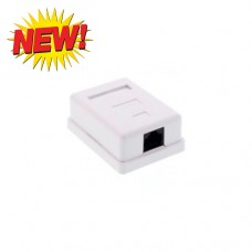 FTT6-065 WALL PLUG STICKER ETHERNET CAT5e