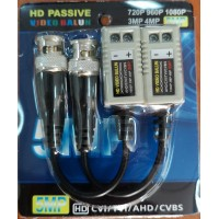 FTT10-015 1 Channel Passive HD Video Balun 5MP (ζευγος)