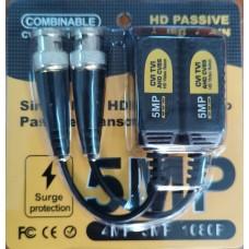 FTT10-016 1 Channel Passive HD Video Balun 5MP