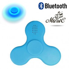 SPINNER ΜΕ LED Bluethooth Speaker (Μπλέ)