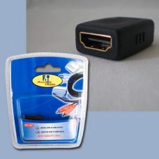 FTT1-027 HDMI θηλ. - HDMI θηλ. επίχρυσο