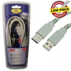 FTT6-041 ΚΑΛΩΔΙΩΣΗ USB A-A Version2 5meter