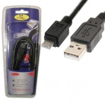 FTT6-043 ΚΑΛΩΔΙΩΣΗ USB - MICRO B Version2 1.5meter