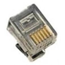 FTT3-022 PHONE LINE PLUG 6P4C
