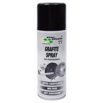 SPRAY Γραφίτης 200ML STAC PLASTIC A02245