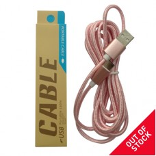 FTT6-073 TYPE-C FAST CHARGE CABLE 1M PINK