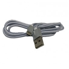FTT6-078 Cable Micro-USB Quick Charge 1m Silver