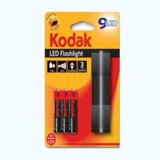 30412446 Kodak 9-LED flashlight black + 3 AAA EHD