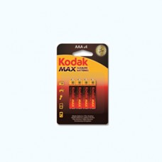 30952812 Kodak MAX alkaline AAA battery (4 pack)