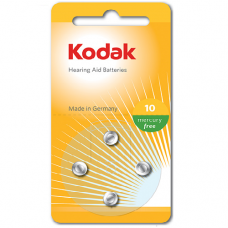 30410404 Kodak hearing aid P10 battery (4 pack)