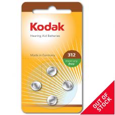30410428 Kodak hearing aid P312 battery (4 pack)
