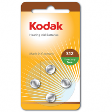 30410428 Kodak hearing aid P312 battery (4 pack)