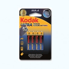 30959521 Kodak ULTRA premium alkaline AAA battery (4 pack)