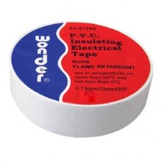 WONDER INSULATING TAPE WHITE MADE IN TAIWAN