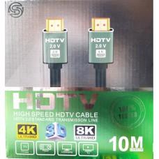 FTT1-083 GOLD HDMI-HDMI 10M 2.0Version