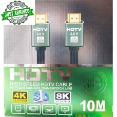 FTT1-083 GOLD HDMI-HDMI 10M 2.0Version