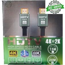 FTT1-084 GOLD HDMI-HDMI 15M 2.0Version