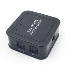 FTT14-037 Digital Optical Audio Splitter Switch 1 Input 3 Output