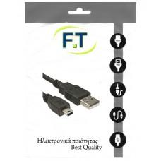 FTT16-607 CABLE USB - MINI USB 1.5m Version2