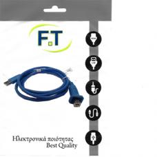 FTT16-660 CABLE USB-A male - USB-B male 1.5m