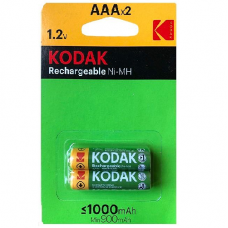 30954021 Kodak rechargeable Ni-MH AAA battery 1000mAh (2 pack)