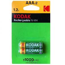 30954021 Kodak rechargeable Ni-MH AAA battery 1000mAh (2 pack)