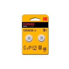 30417670 Kodak ULTRA lithium CR2025 battery (2 pack)