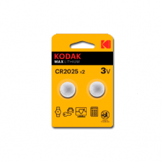 30417670 Kodak ULTRA lithium CR2025 battery (2 pack)