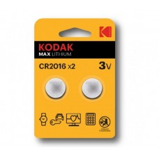 30417663 Kodak ULTRA lithium CR2016 battery (2 pack)
