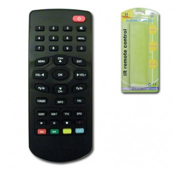 LOR-157 REMOTE CONTROL for DVB-T