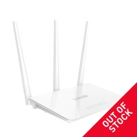Tenda F3 Wireless router, 2.4GHz, 300Mb/s, 2T3R, VLAN