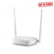 Tenda N301 wireless router, 2.4GHz, 300Mb/s, 2T2R